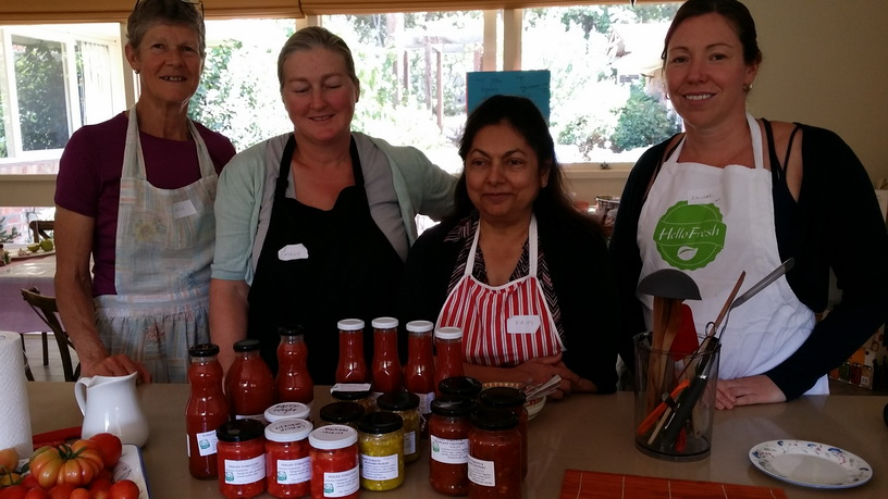 My Green Garden Tomato Preserves workshop